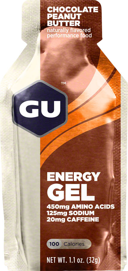 GU Energy Gel: Chocolate Peanut Butter