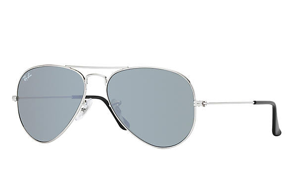 Ray Ban 0RB3025 Aviator Mirror Silver with Silver Mirror Lenses