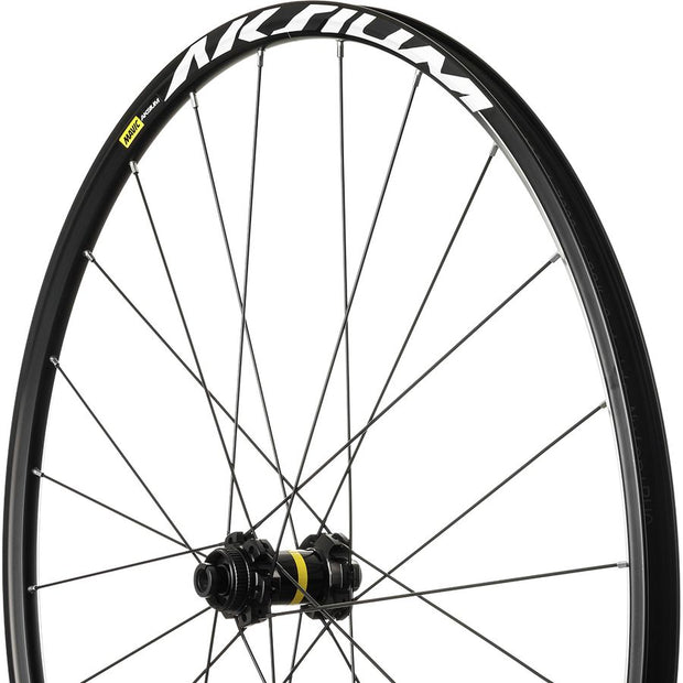 MAVIC Aksium Disc Wheelset (thru-axle front Q/R Rear)