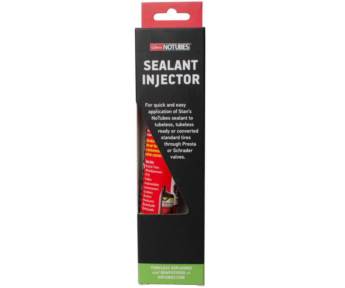 STAN'S NO TUBES- TIRE SEALANT INJECTOR