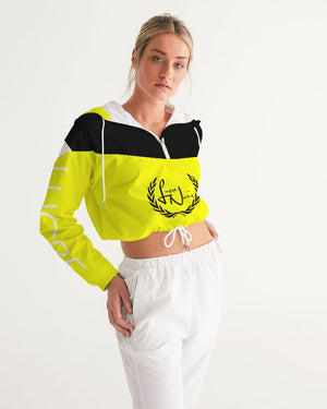 Flash Women's Cropped Windbreaker