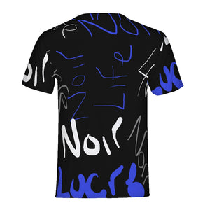 Graffiti Blue Men's Tee