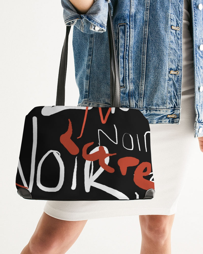 Graffiti Noir Shoulder Bag