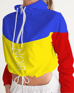 Colors Women's Cropped Windbreaker
