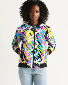 Women's In Living Color Bomber Jacket