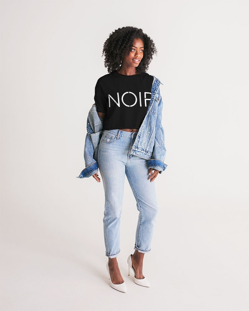 Noir Women's Lounge Cropped Tee