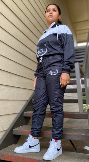 Women's Noir Cropped Windbreaker