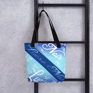 Scripted Tote bag
