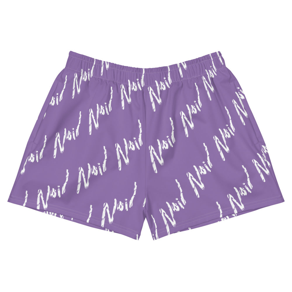 Women's Grape Athletic Shorts