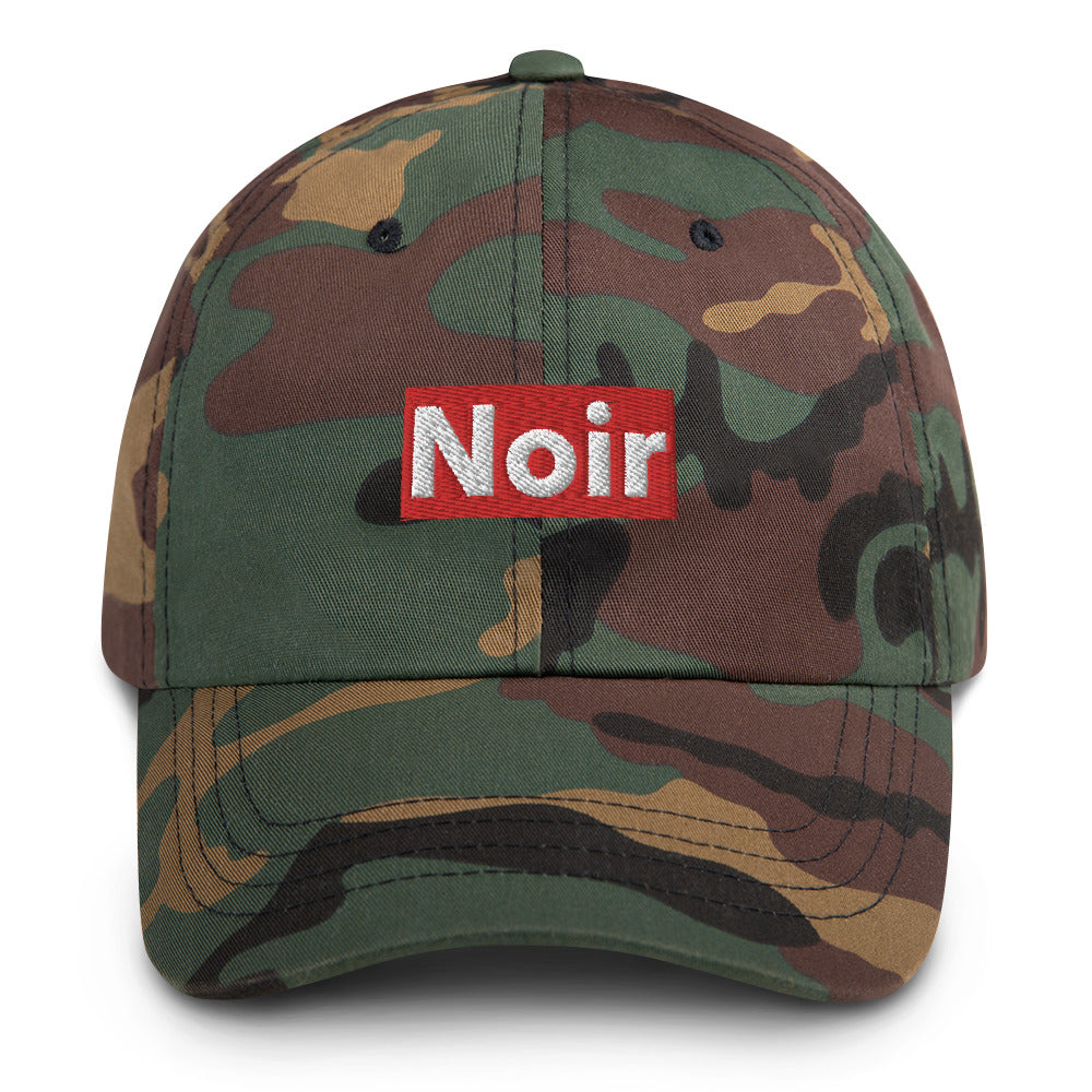 Noir Dad hat