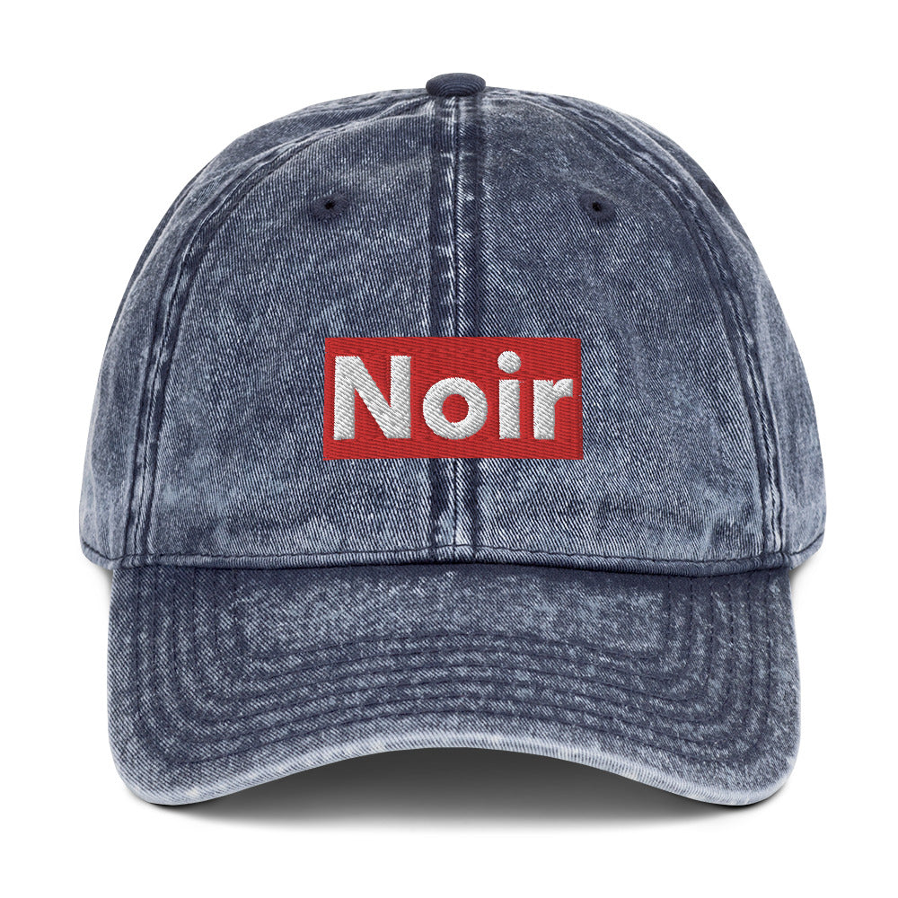 Vintage Noir dad hat