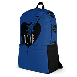 Blue Love Hurts Backpack