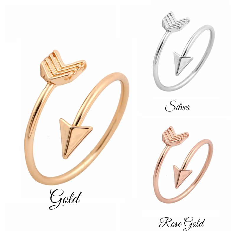 Arrow Ring - Gold, Silver and Rose Gold