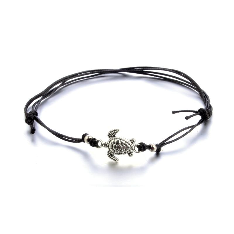 Bohemian Turtle Anklet