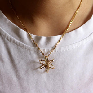 Science Atom Necklace