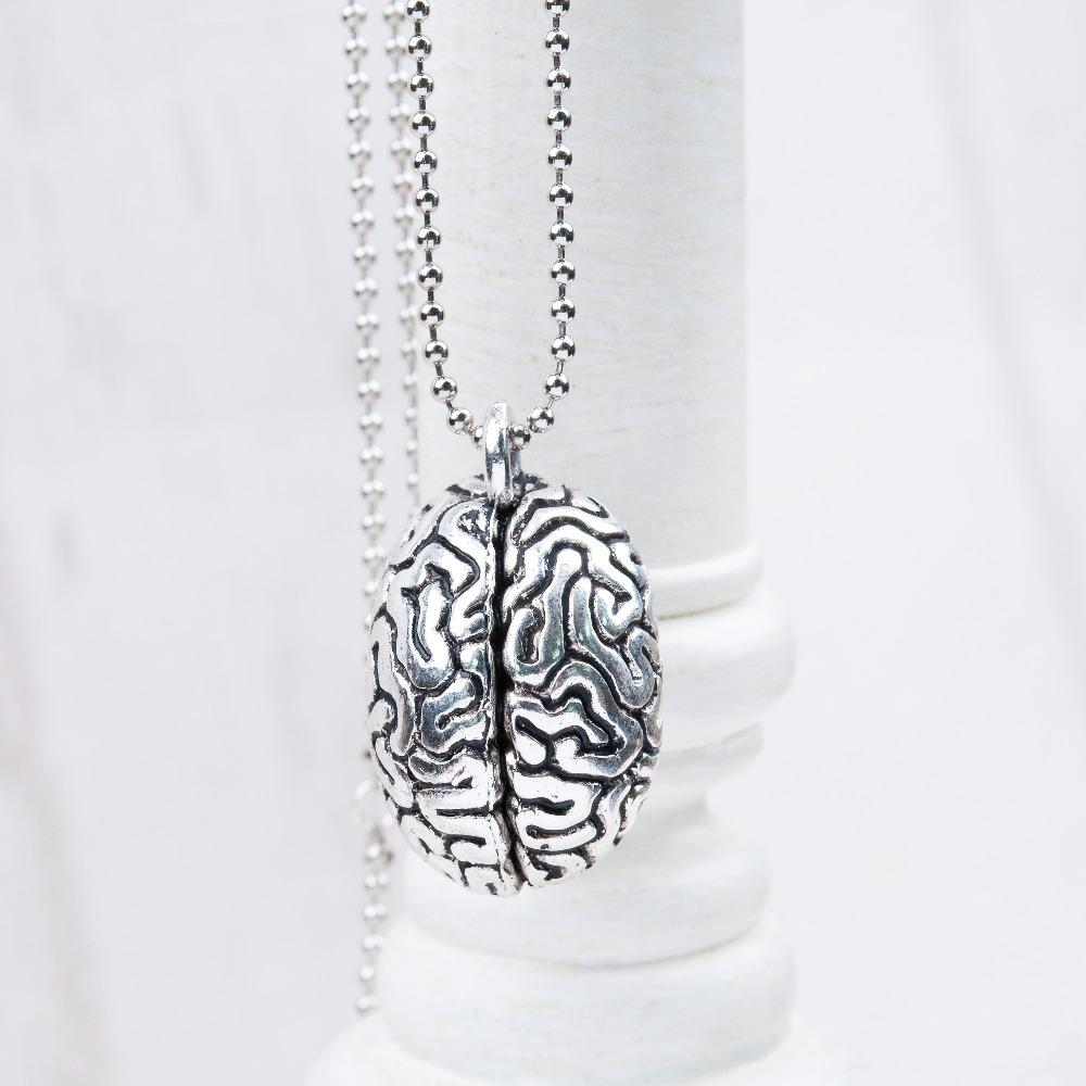 Anatomical Brain Necklace