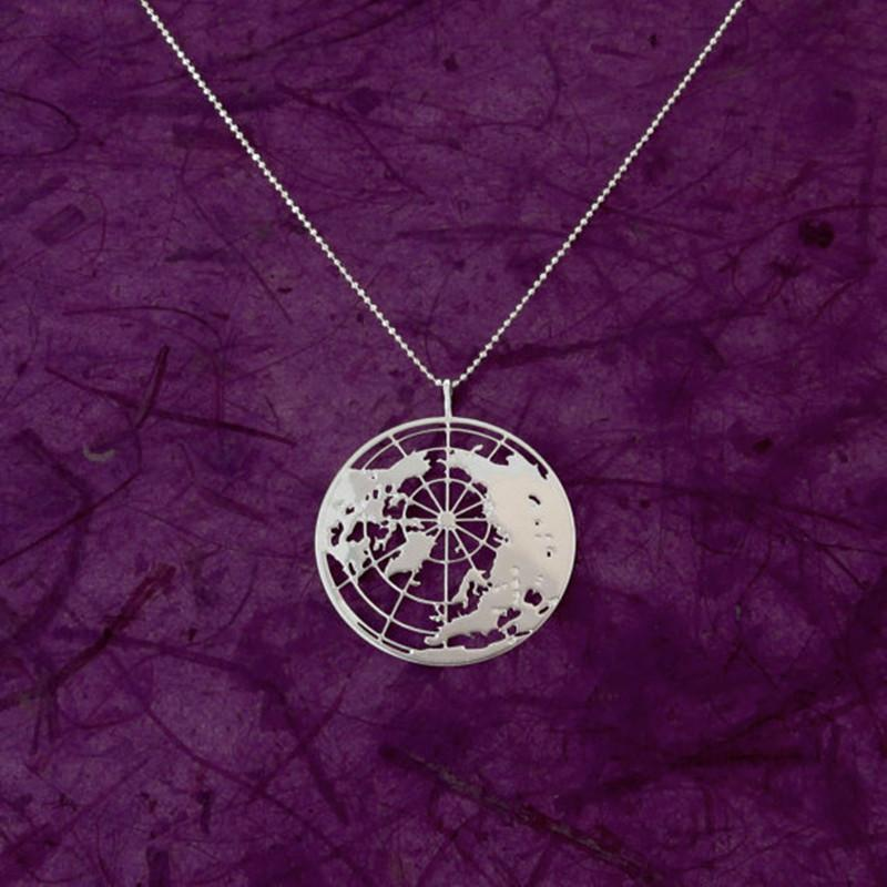 The Globe Pendant Necklace