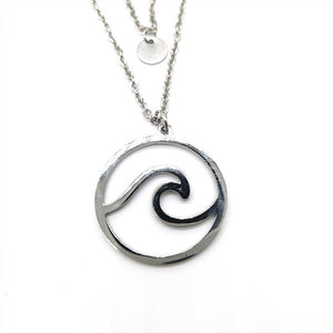Multi Layer Sea Wave Necklace