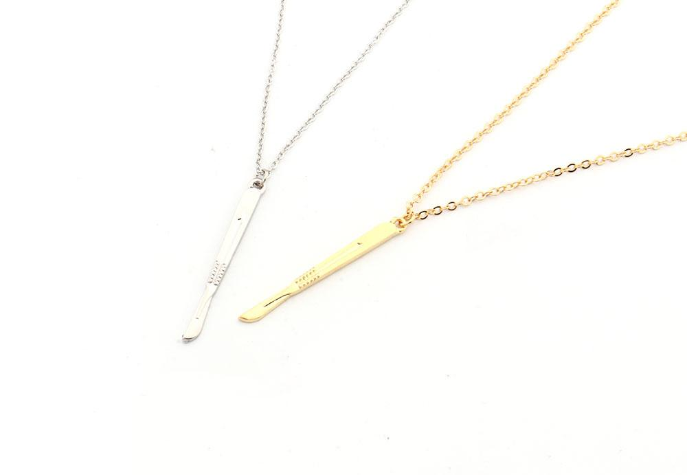 Nurse Scalpel Necklace