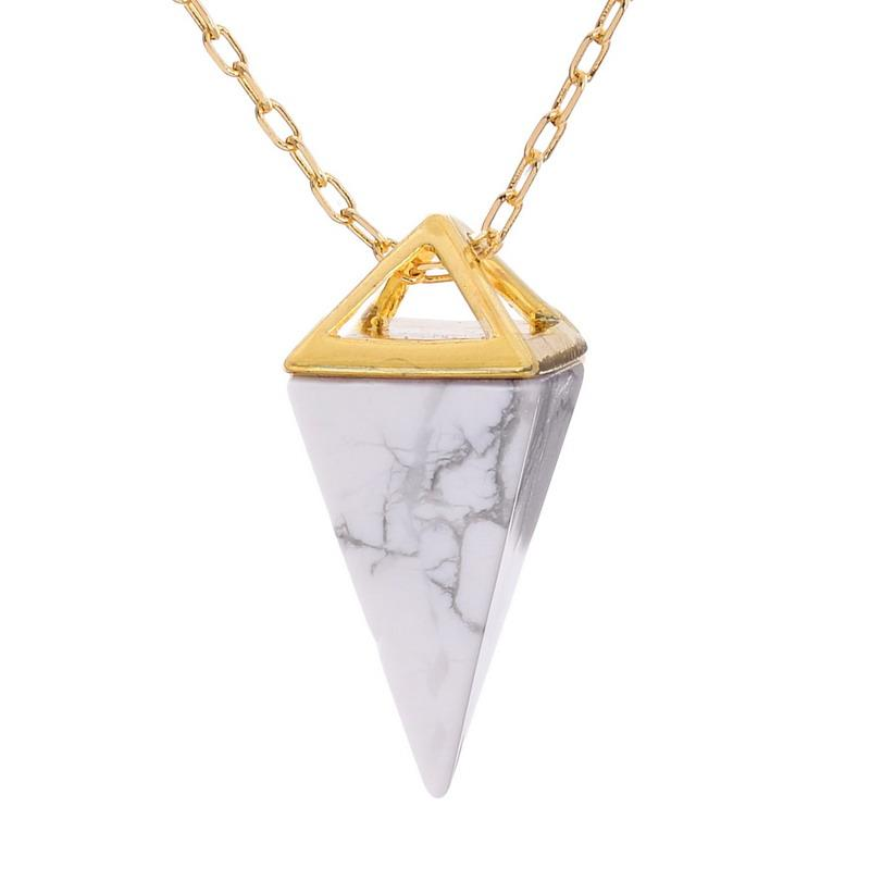 Healing Crystal Point Necklace