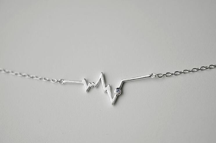 """The Heartbeat"" Necklace"