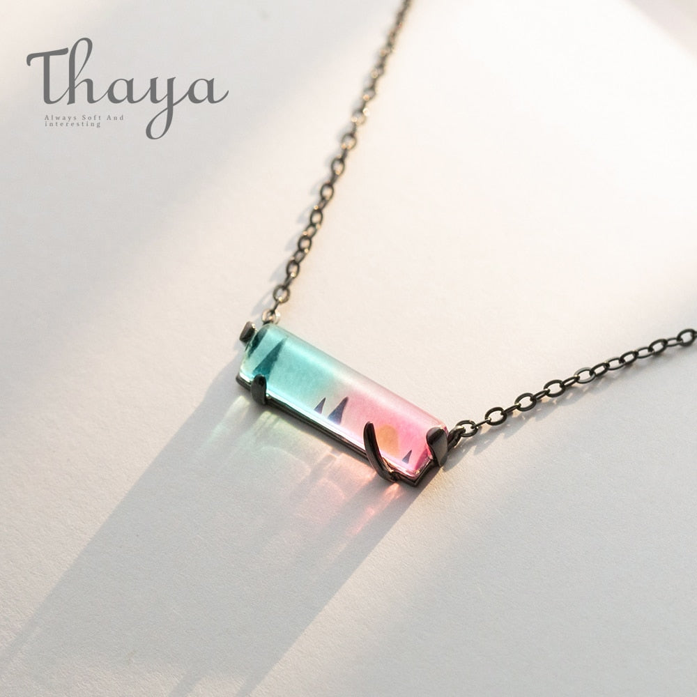 Sunset Symphony Chain Necklace