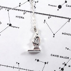 Lab Microscope Necklace