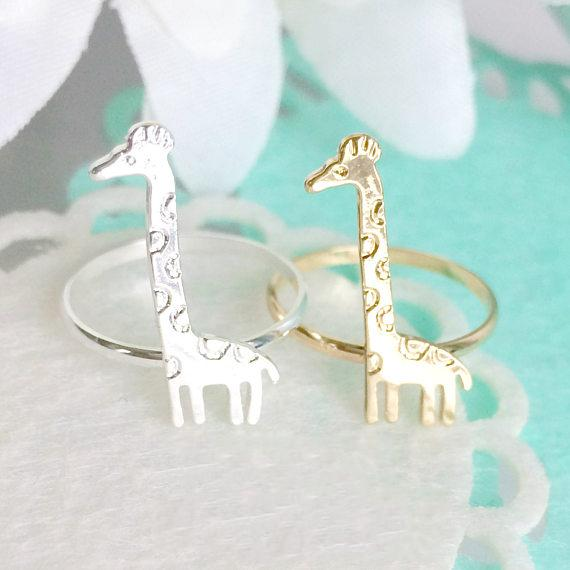 Cute Giraffe Ring