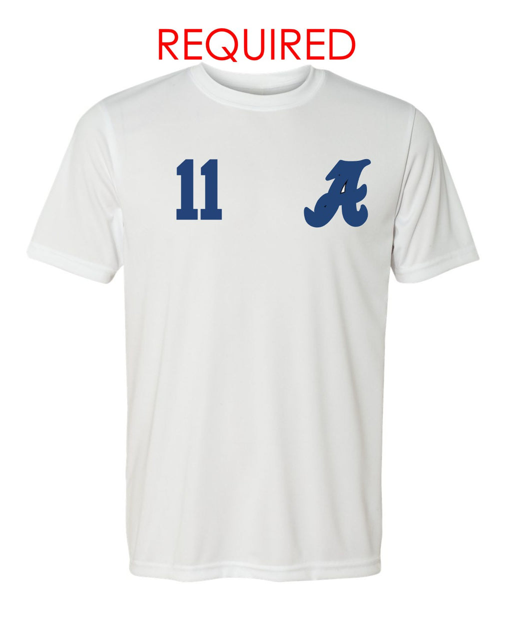 Soccer Jersey - White