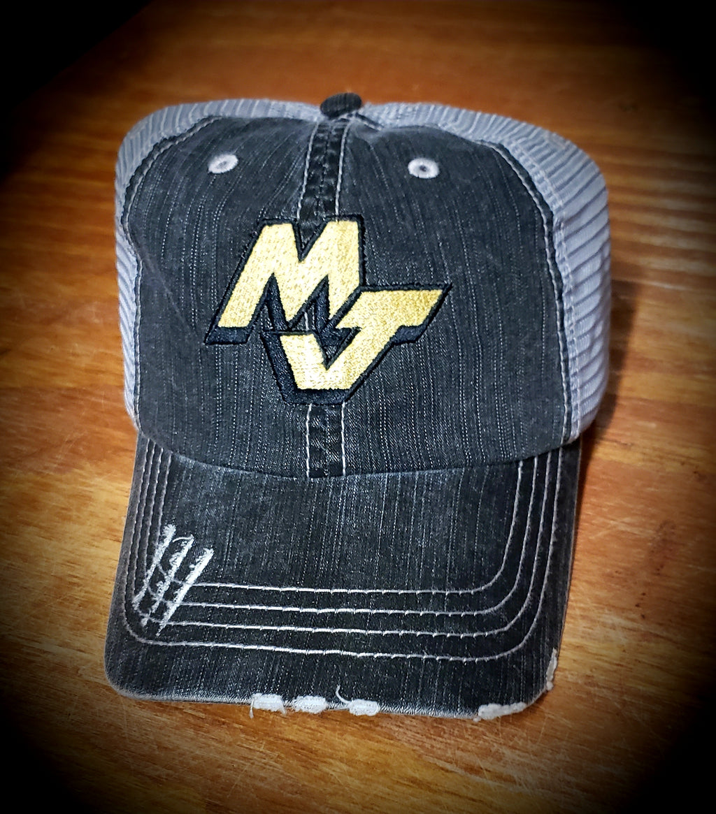 MJ Distressed Trucker