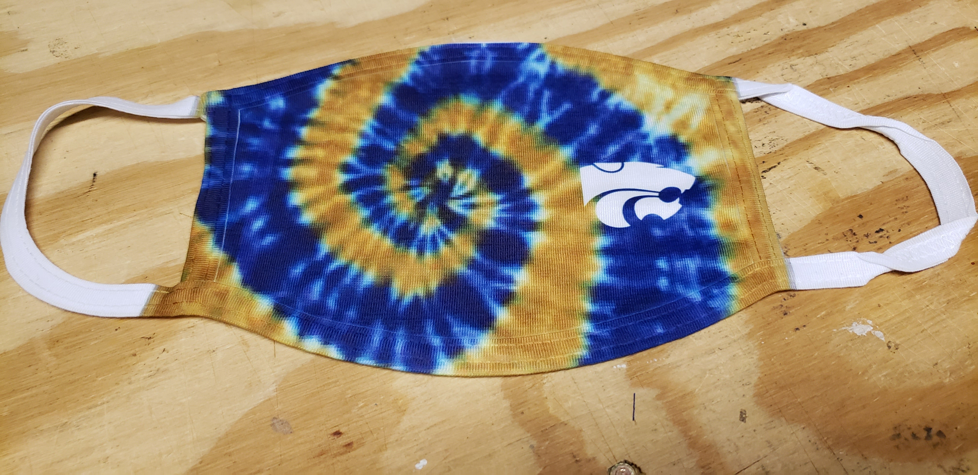 Wildcats- Tie Dye - Blue & Gold