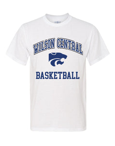 Wilson Central Basketball - White Short Sleeve