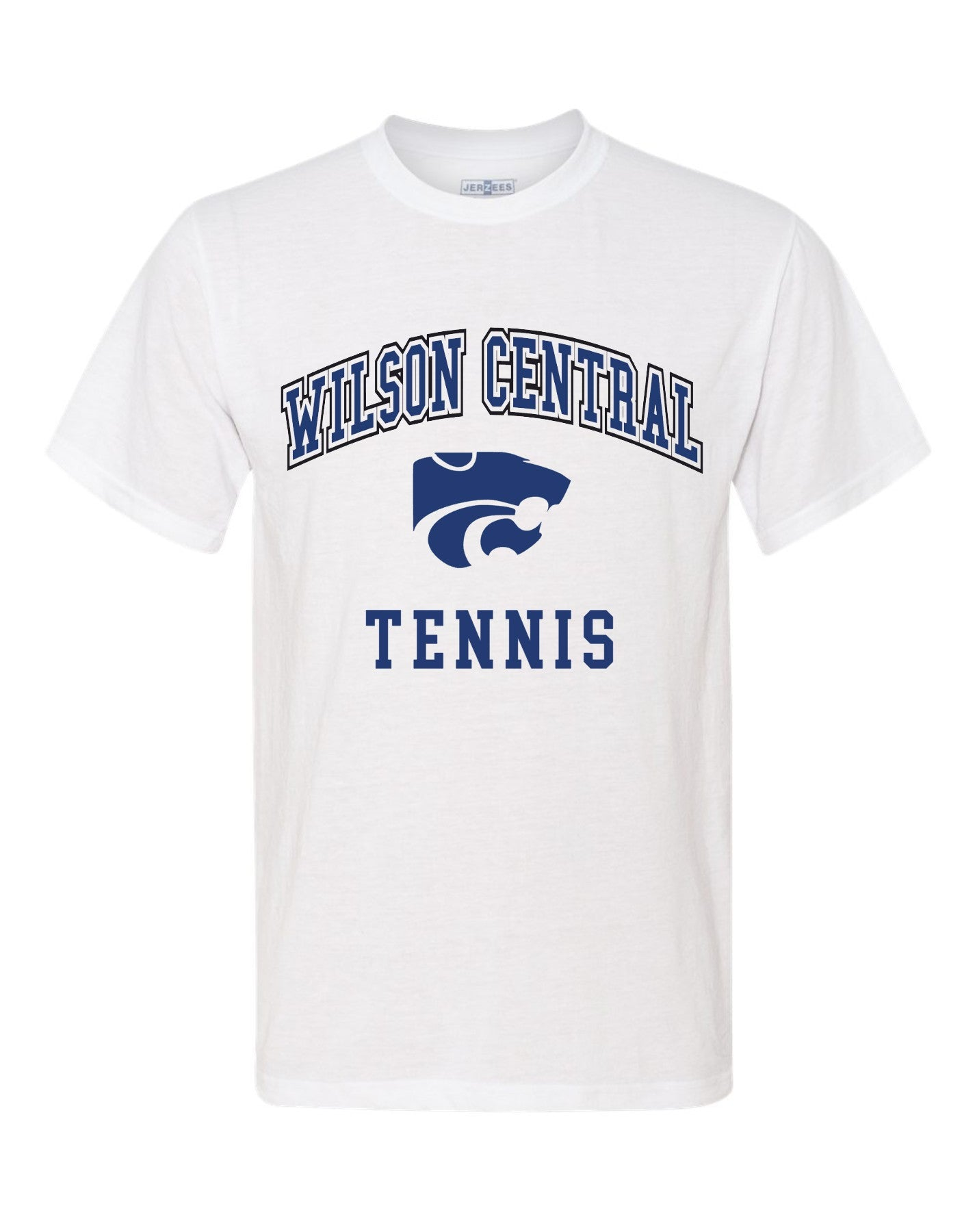 Wilson Central Tennis - White Short Sleeve