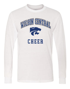 Wilson Central Cheer - White Long Sleeve