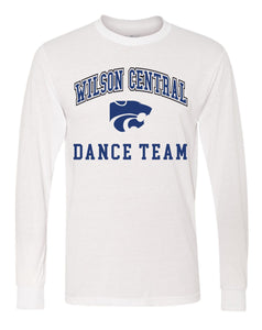 Wilson Central Dance Team - White Long Sleeve