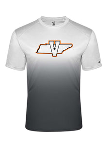 Youth Performance State Tee-Graphite