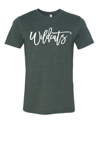 WILDCATS TEE (BELLA CANVAS)