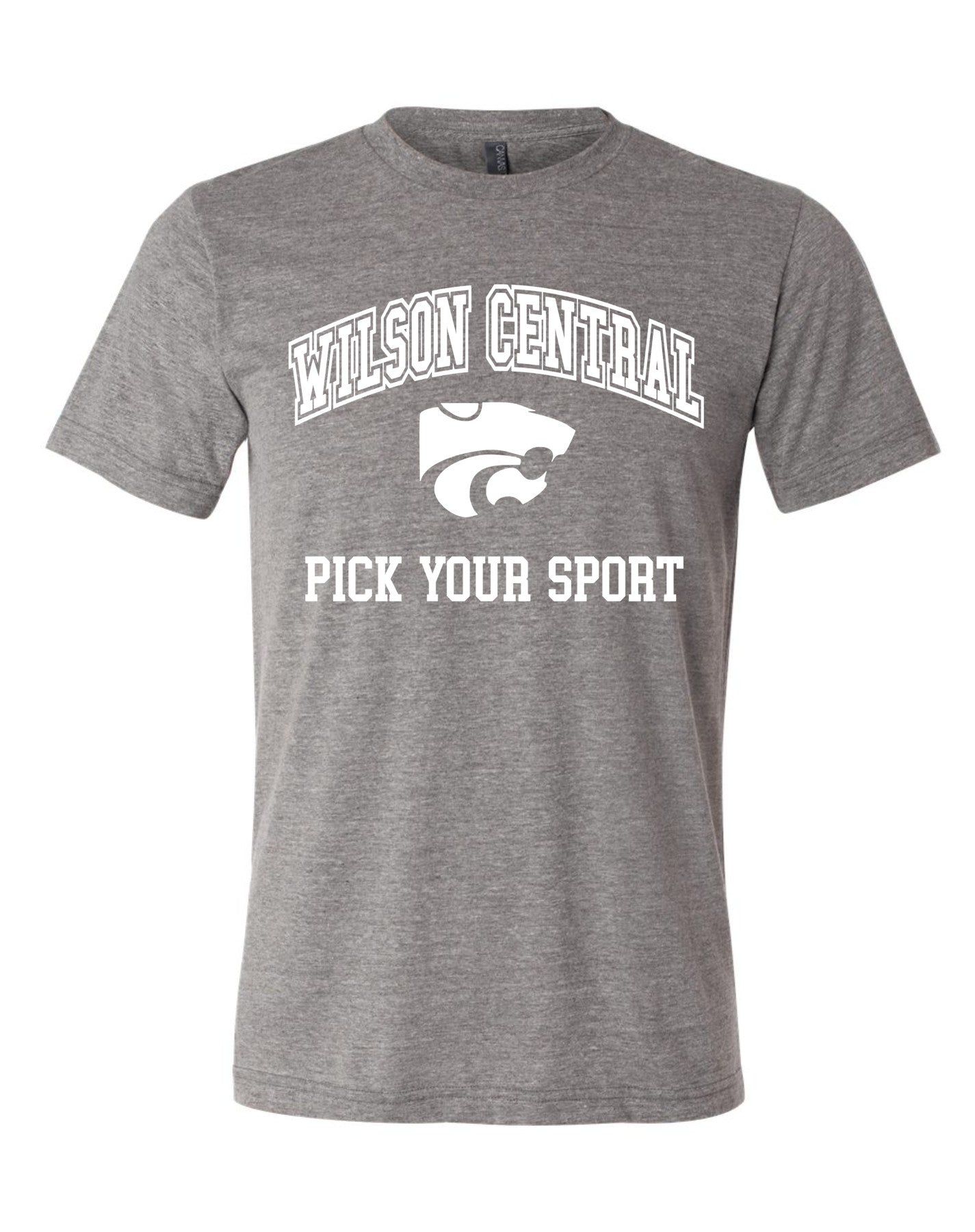 Wilson Central - Premium Tee Grey Short Sleeve