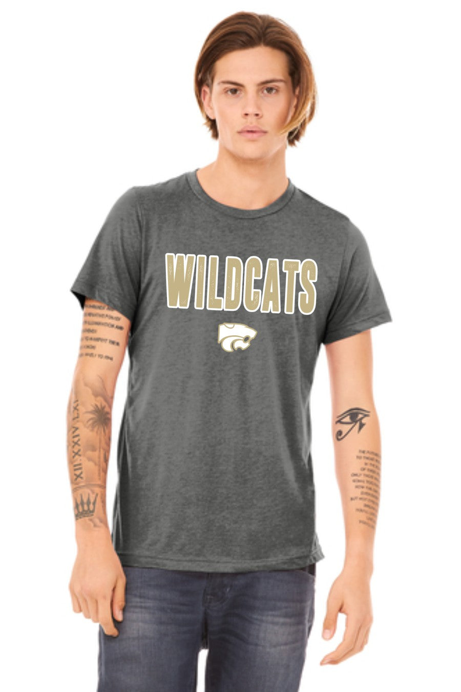Wildcats - Gold - Bella Canvas