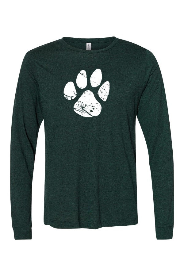 PAW LONG SLEEVE (BELLA CANVAS)