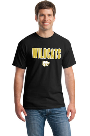 Wildcats - GOLD/WHITE - Tee
