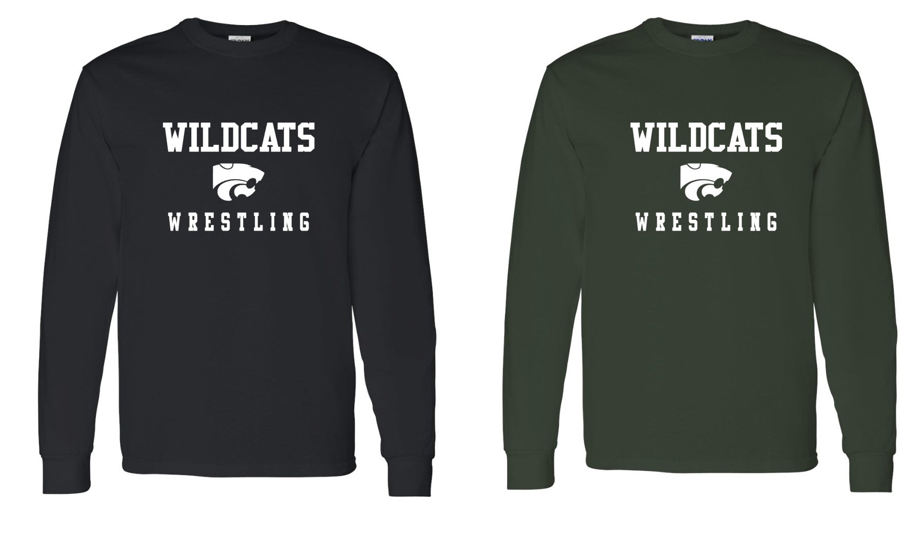 Wildcats Wrestling Long Sleeve B