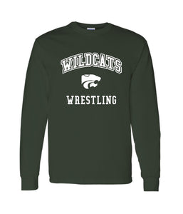 Wildcats Wrestling Long Sleeve