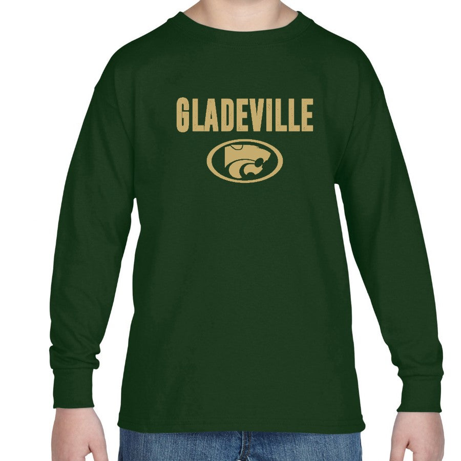 GLADEVILLE LS YOUTH TEE - 2 COLORS