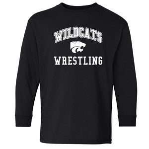WILDCATS ARCH LS YOUTH TEE - 2 COLORS