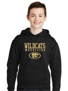 WILDCATS GOLD YOUTH HOODIE- 3 COLORS