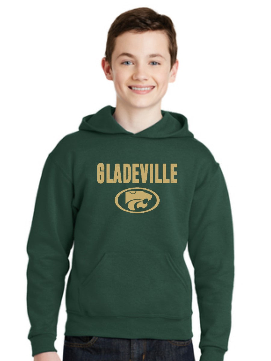 GLADEVILLE YOUTH HOODIE- 3 COLORS