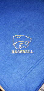 Wildcat Stadium Blanket - Baseball