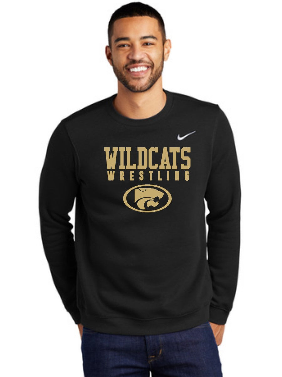 NIKE WILDCATS GOLD CREWNECK SWEATSHIRT