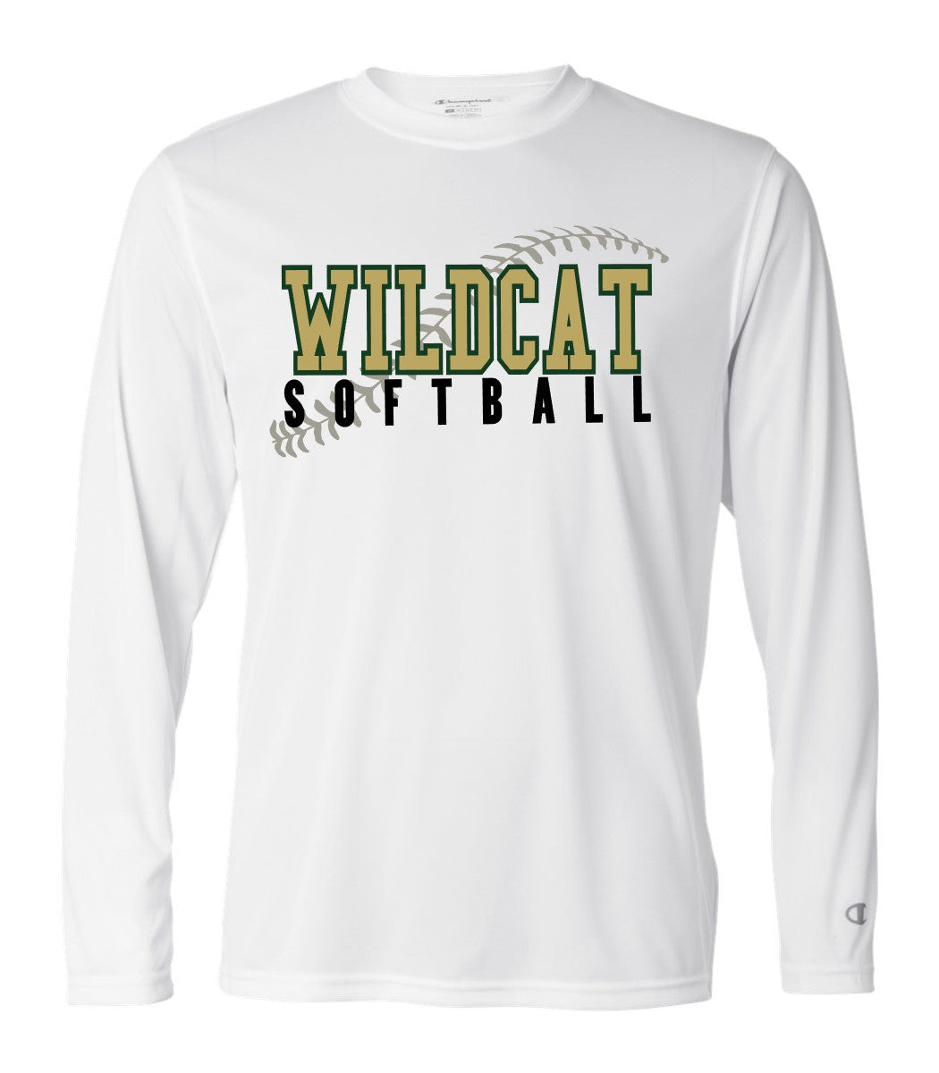 Wildcat Softball Seams - Champion Performance Long Sleeve